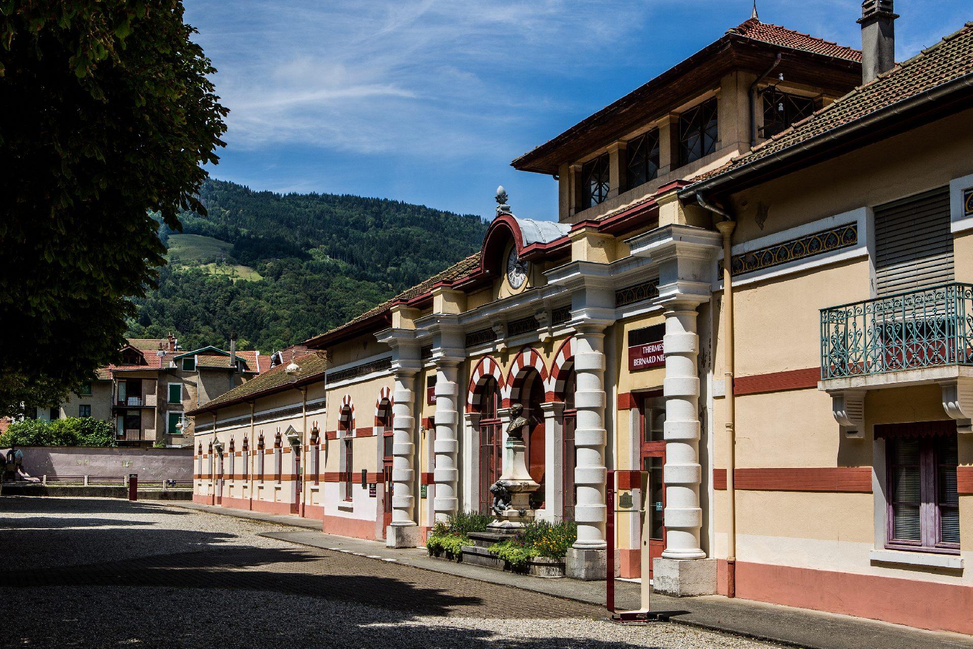 La station thermale d'Allevard