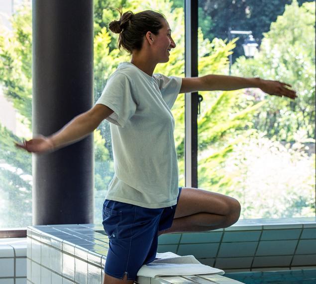 Remise en forme progressive, séances en piscine thermale aux Thermes d'Allevard